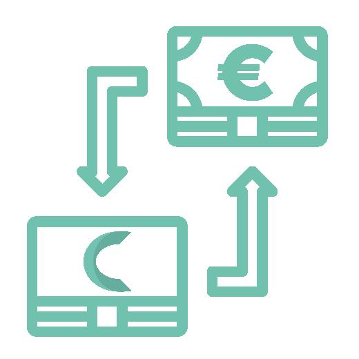 Icon échange billet